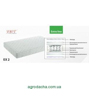 Ортопедический матрас серия Extra Line EX2 0.80х1.9-2 м