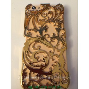 Чехол-накладка Radiating Hollow Plastic Fandas Gold Cover для iphone 5/5S, Винница