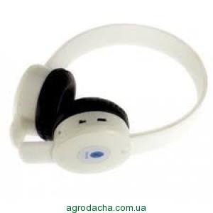 Bluetooth наушники BQ-868+MP3 плеер White