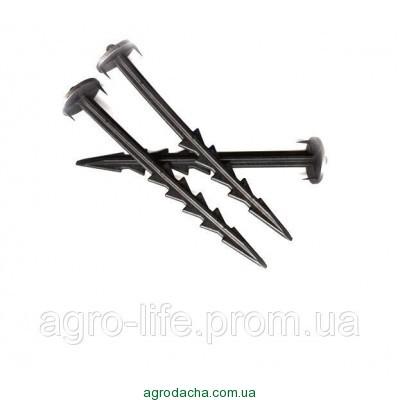 Колышек (шпилька) для закрепления агроволокна 17см, Польша