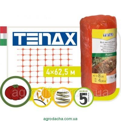 Сетка полимернаядля сбора и сушки фруктов Tenax Plurima оранжевая (4х62.5)