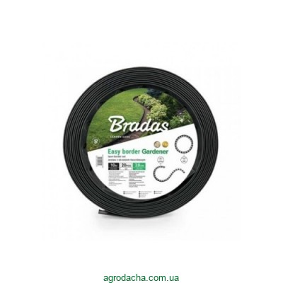 Бордюр газонный с колышками Bradas 10 м