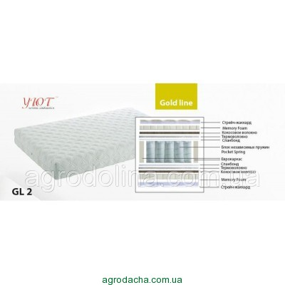Ортопедический матрас серия Gold Line GL2  0.90х1.9-2 м