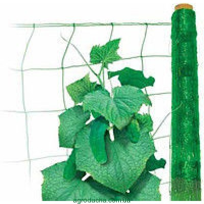 """Огуречная сетка """"Intermas"""" зеленая 1,7*15м"""