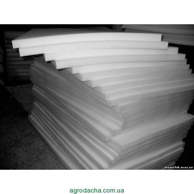 Поролон мебельный листовой (1,2м*2м) толщиной 100 мм
